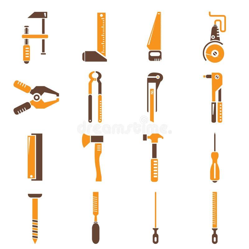 Konstruktionshjälpmedel stock illustrationer