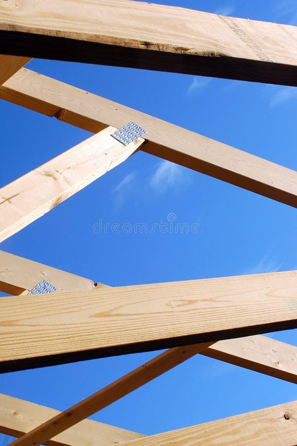 konstruktionshus arkivbild