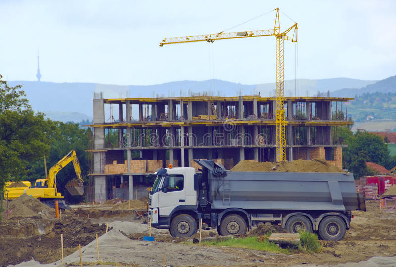 konstruktionslokal royaltyfria foton