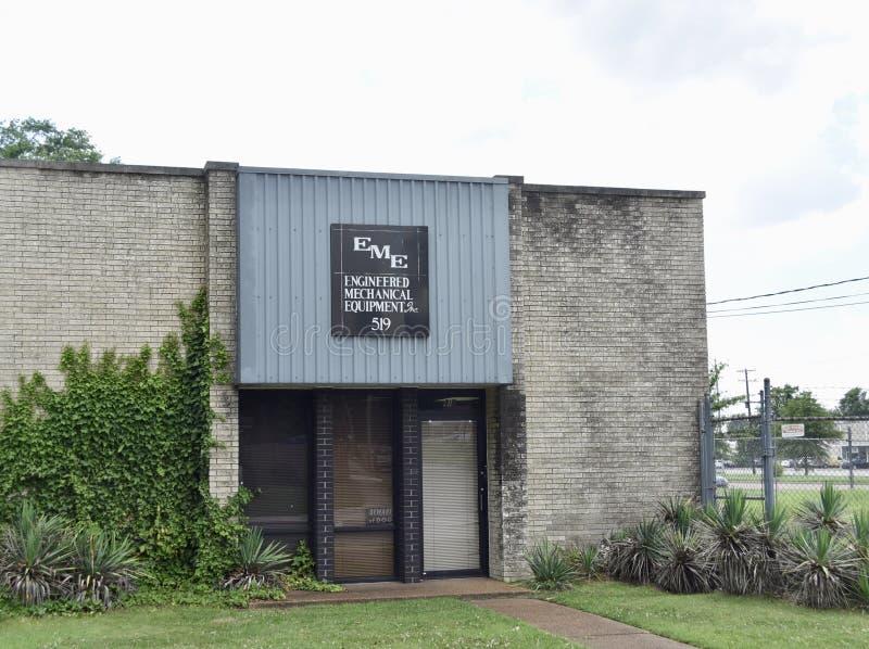 Konstruujący Machinalny wyposażenie, inc W Memphis, TN obraz stock