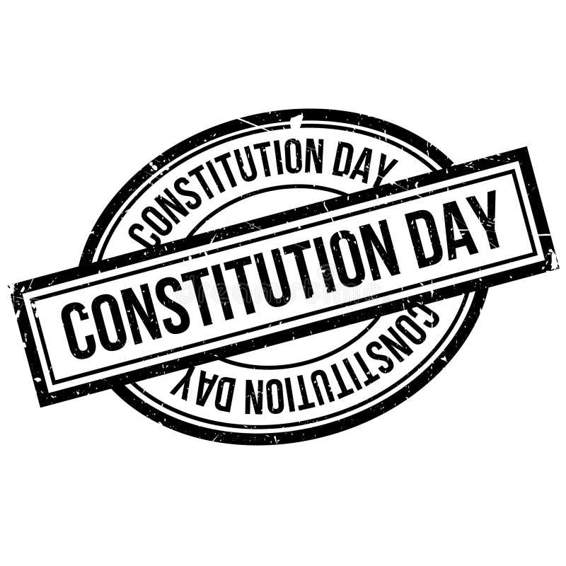Konstytucja dnia pieczątka ilustracji