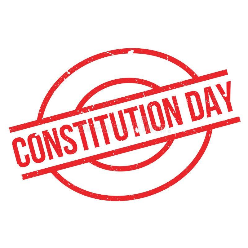 Konstytucja dnia pieczątka royalty ilustracja