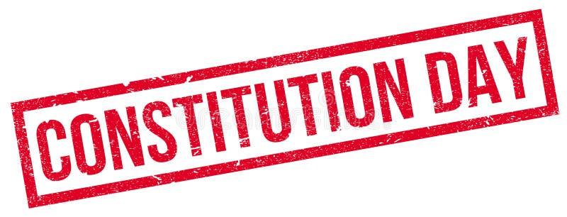 Konstytucja dnia pieczątka ilustracja wektor