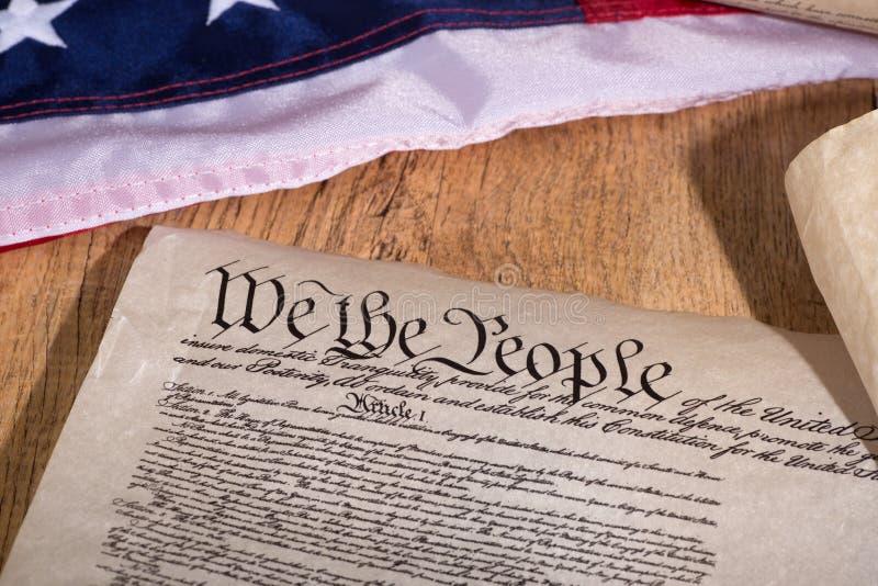konstytucja stanów zjednoczonej obrazy royalty free