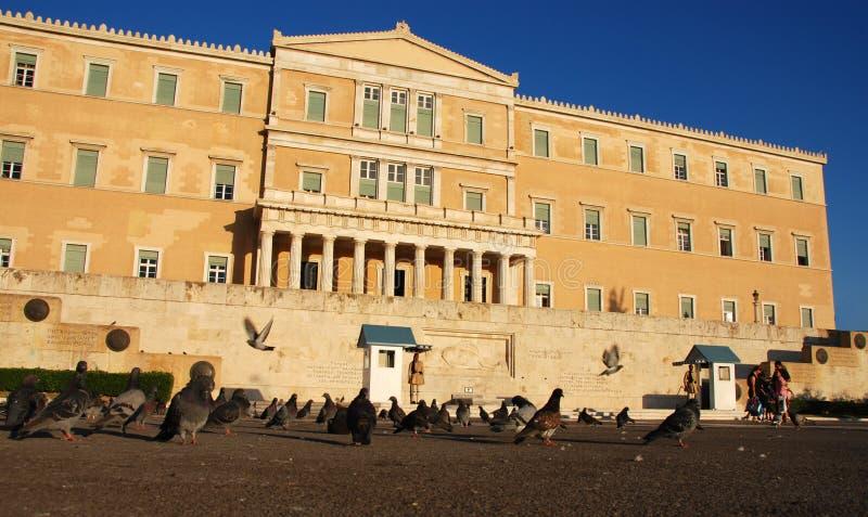 konstytucji athens square zdjęcie royalty free