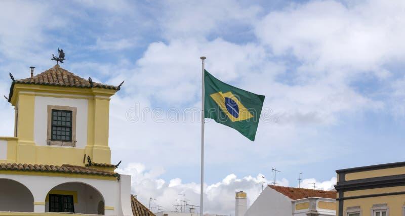 konsulat generalny Brasil w Faro obraz stock
