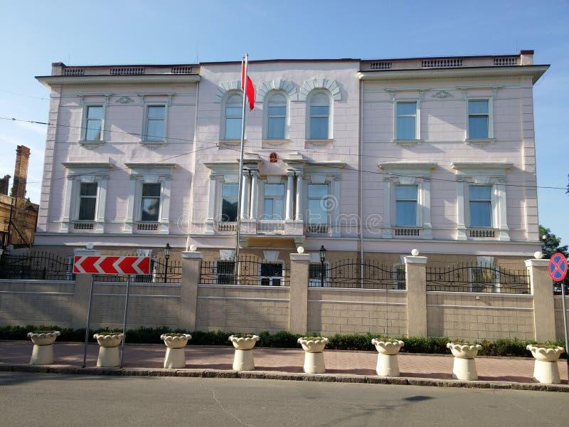 Konsulat Generalny Chiny zdjęcie stock