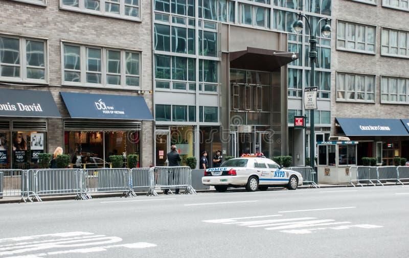 Konsulat Generalny Izrael w Nowy Jork zdjęcie royalty free