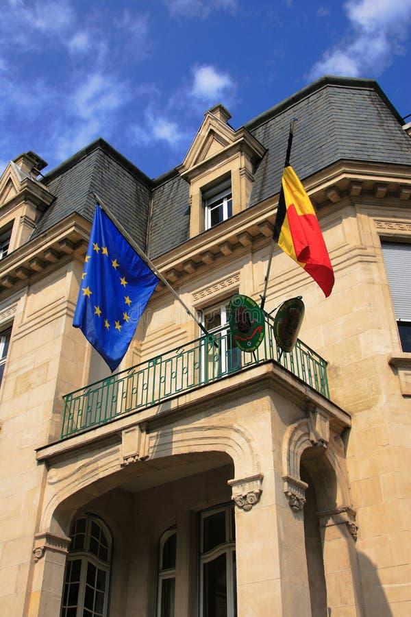 Konsulat von Belgien lizenzfreie stockfotografie