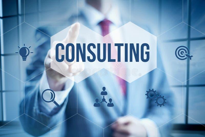 konsultacji z biznesu zdjęcie stock
