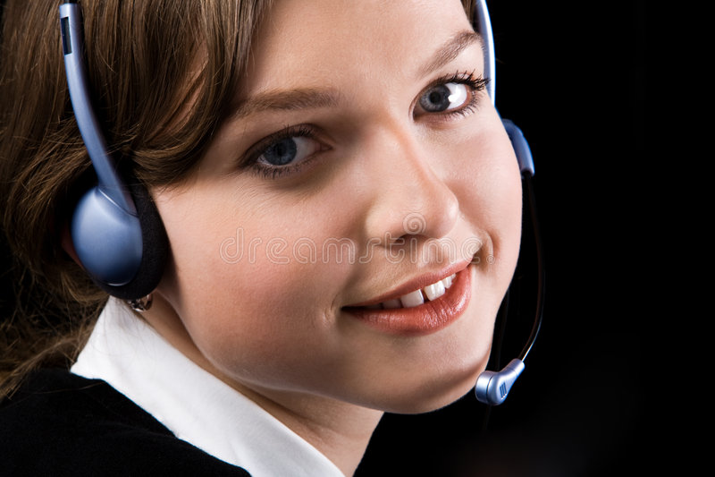 konsultant twarz obraz royalty free