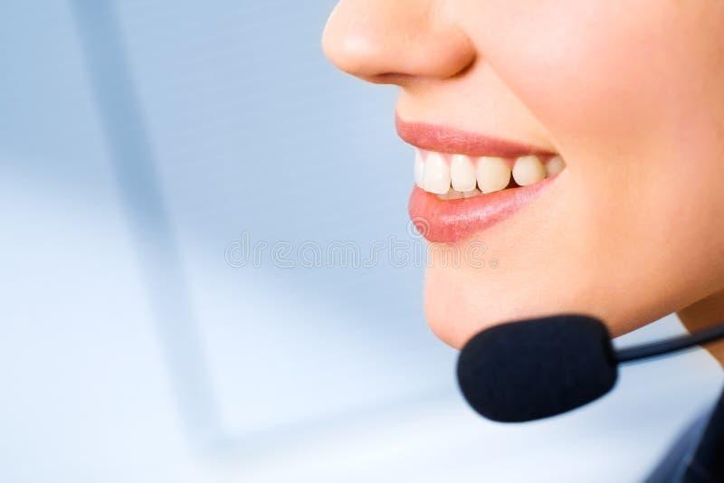 konsultant usta obraz royalty free