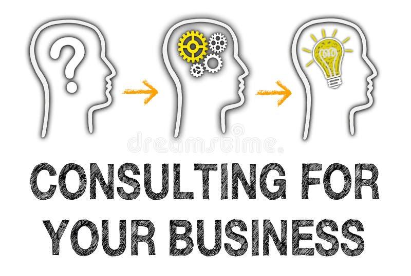 Konsultować dla twój biznesu obrazy royalty free