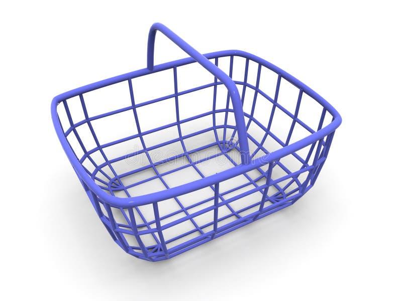 konsument koszykowy s ilustracja wektor