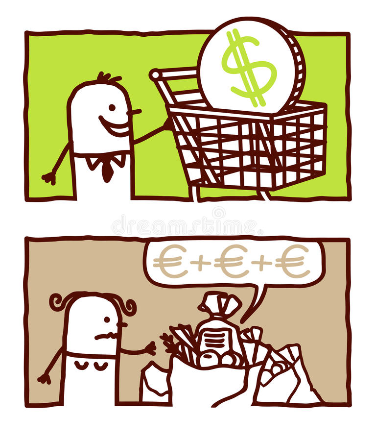 konsumpcyjny target281_0_ royalty ilustracja