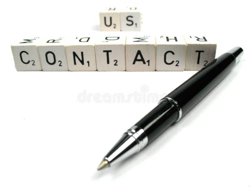 kontakt zdjęcia stock