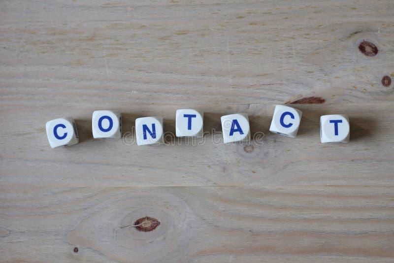 kontakt arkivfoto
