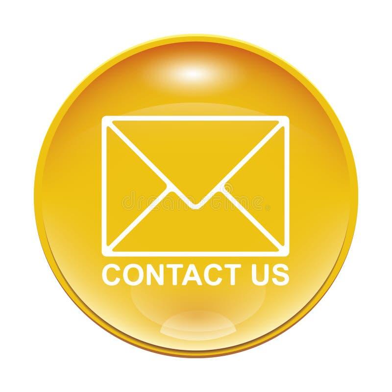 kontakta oss vektor illustrationer