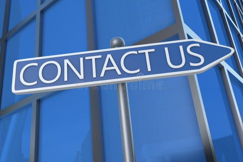 kontakta post phone oss arkivfoto