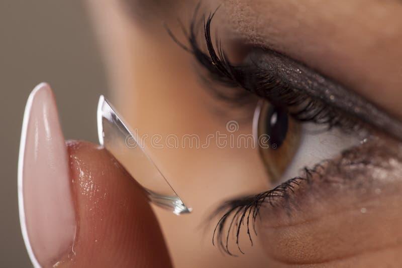 Kontaktlins arkivfoto