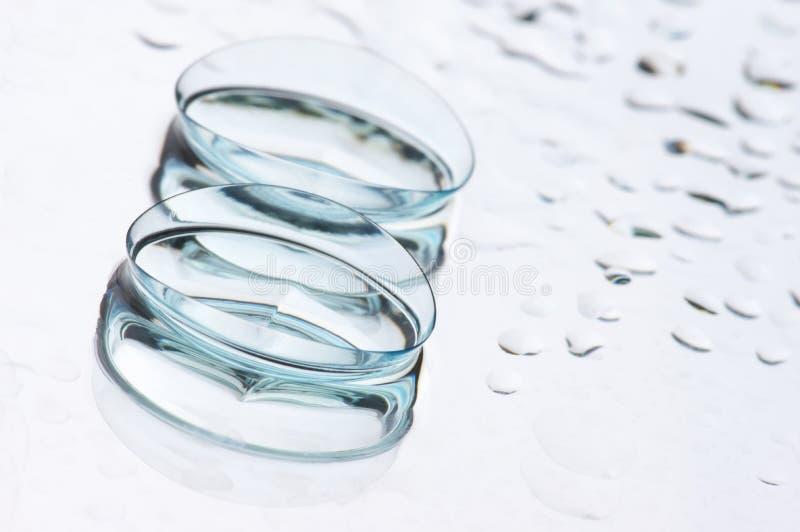 Kontaktlinsen lizenzfreie stockfotos