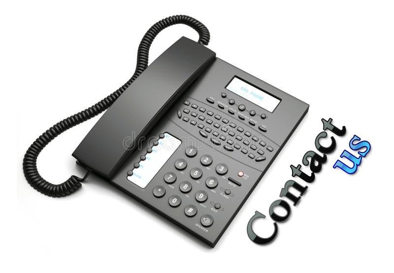 kontaktowa obsługa klienta ilustracji