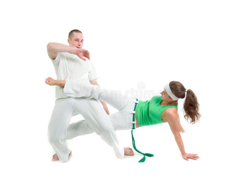 kontaktowy capoeira sport fotografia stock