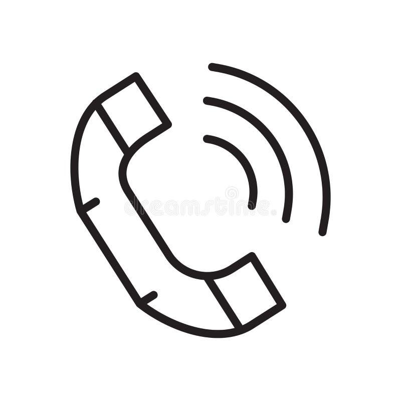Kontaktowy ikona wektor odizolowywający na białym tle, kontaktu znak ilustracji