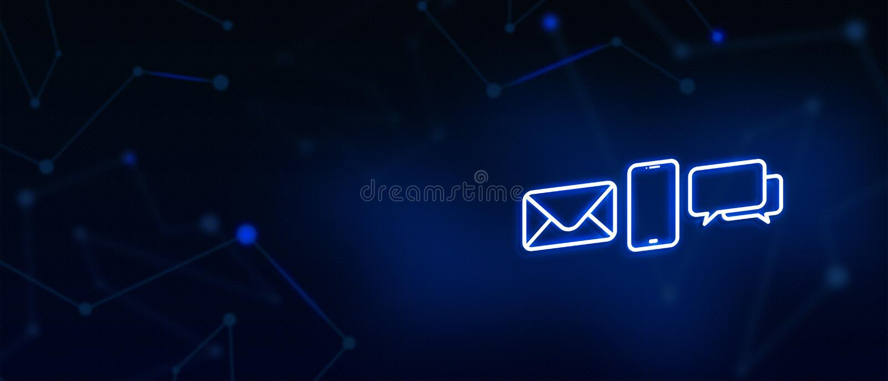 Kontaktuje się my, kontakt, emaila kontakt, wezwanie, wiadomość, ląduje stronę, tło, okładkowa strona, ikona royalty ilustracja