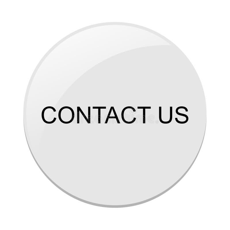 kontaktuje si? poczta dzwoni my royalty ilustracja
