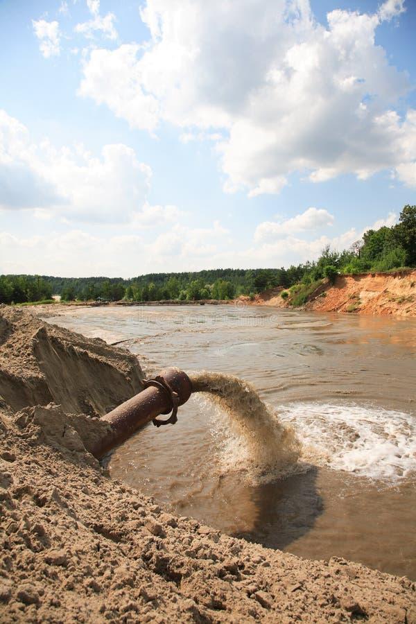 kontaminowanie środowiskowy zdjęcie stock