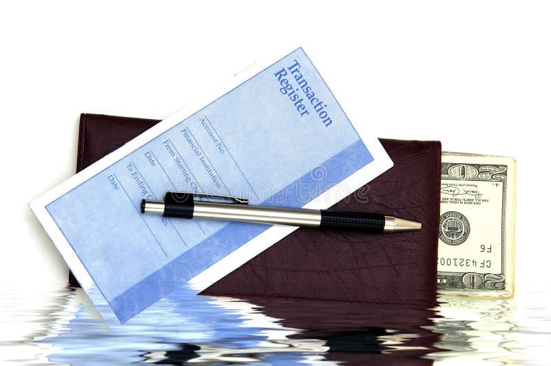 kontant deposit royaltyfri bild