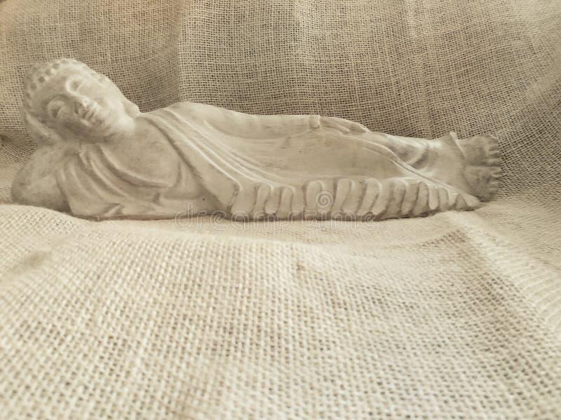 Kontemplacyjny Buddha fotografia royalty free