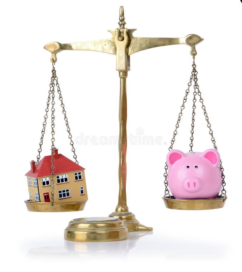 Konten in der Balance lizenzfreies stockfoto