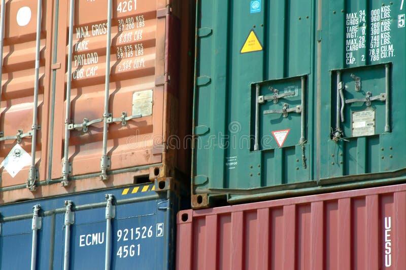 kontenery zdjęcia royalty free