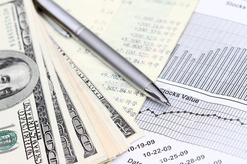 Konto-Anweisung lizenzfreies stockfoto