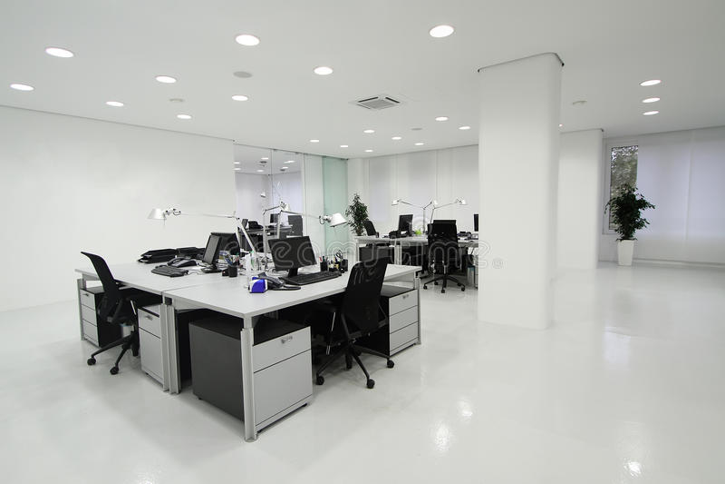 kontor royaltyfria bilder
