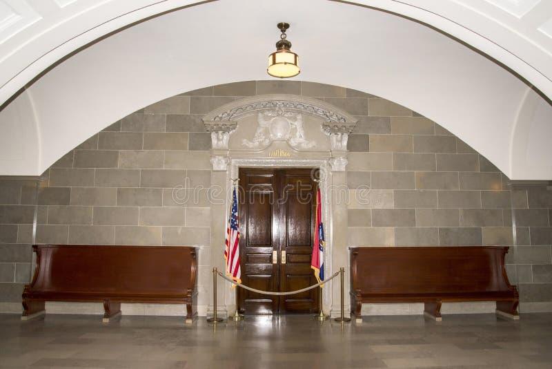 Kontor av den Missouri statregulatorn arkivfoto