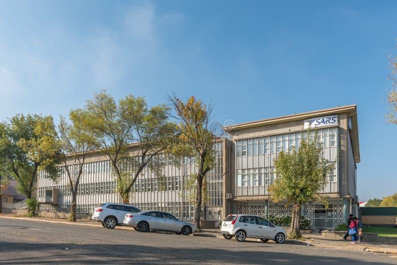 Kontor av söderna - afrikansk intäktservice i Standerton royaltyfri foto