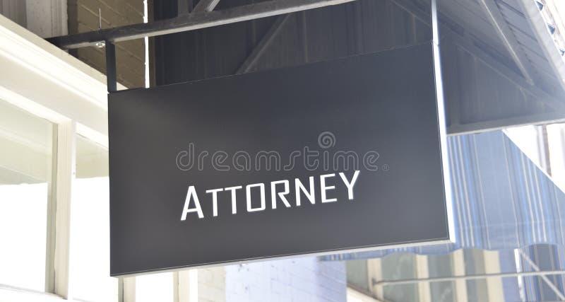 Kontor för advokatTrial Lawyers Legal lägerledare arkivfoto