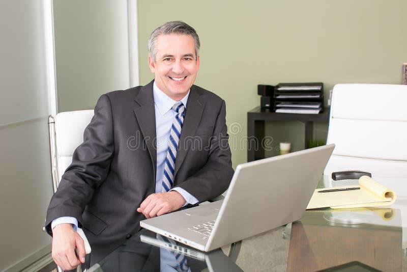 kontor för affärsman arkivfoton