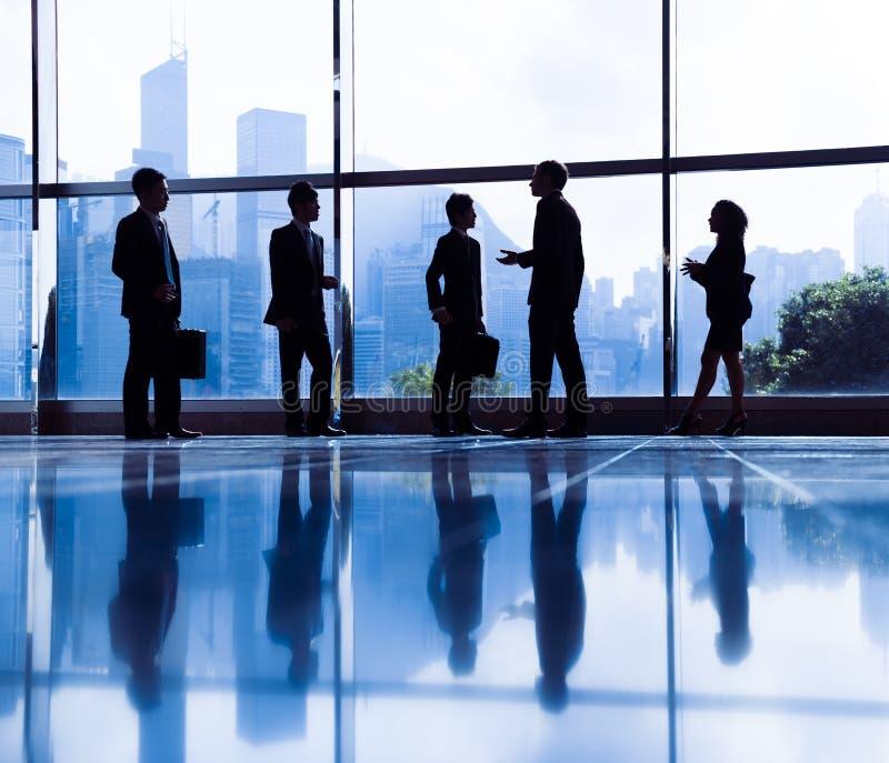 Kontor för arbetare för vit krage för affärsmöte företags arkivbilder
