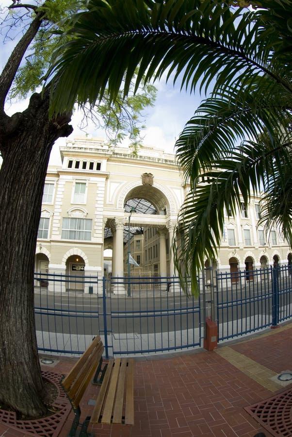 kontor för stadsecuador regerings- guayaquil korridor fotografering för bildbyråer