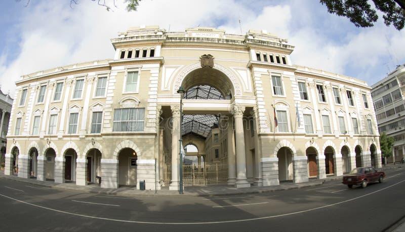 kontor för stadsecuador regerings- guayaquil korridor royaltyfri fotografi