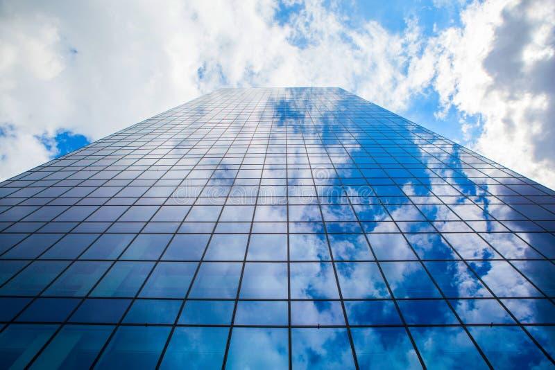 Kontor i himlen arkivfoto