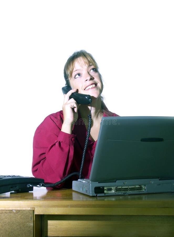 Download Kontorsarbete arkivfoto. Bild av telefon, företag, call - 279492