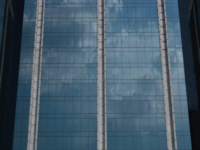 Kontorsbyggnadfasad i Hong Kong royaltyfri fotografi