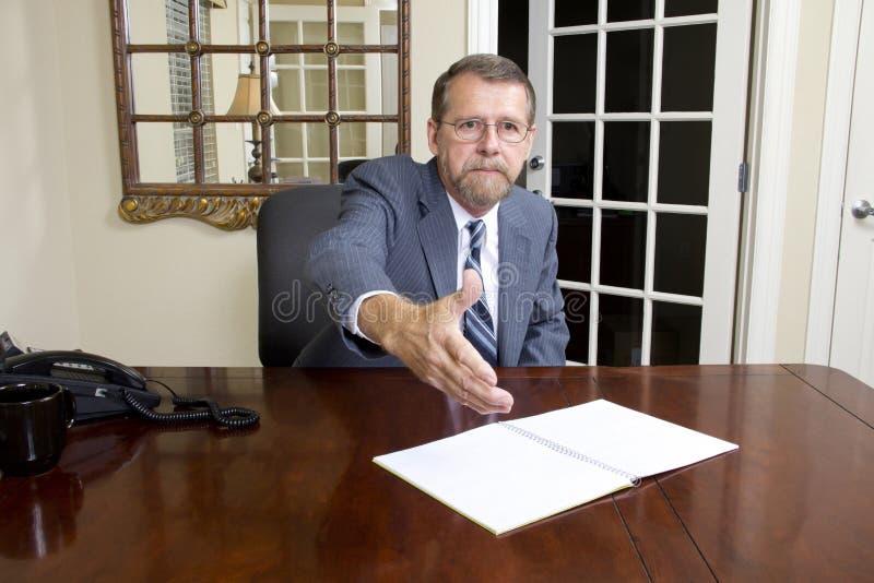 Kontorschef royaltyfria foton