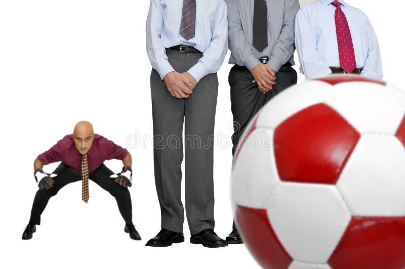 kontorsfotboll fotografering för bildbyråer