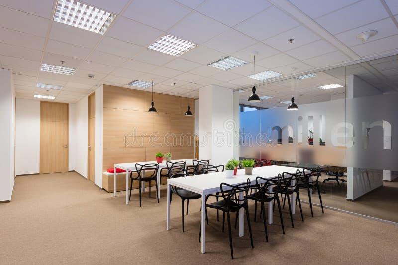 Kontorsinre som skapas av Kivvi arkitekter, Bratislava, Slovakien arkivbilder
